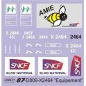 Déco X2464  Maintenance des IES