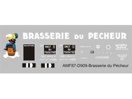 Déco isotherme Brasserie du Pécheur SNCF