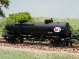 2 plaques support de logo Esso pour D917