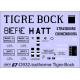 Déco isotherme Brasserie Tigre-Bock AL et SNCF ép2 et 3 (noir fond blanc)