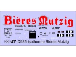 Déco isotherme Brasserie Mutzig SNCF ép3
