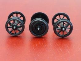 1 essieu à roues à rayons ouverts pour wagon RP25/cde88