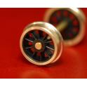 1 essieu à roues rayons pour bissel de 140C Liliput RP25/88