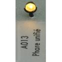 4 phares unifiés fonctionnels rouge