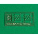 4 consoles de fil trolley + capteur trolley pour locotracteur de halage