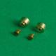 4 Pivots décolletés en laiton pour bogies AMF87