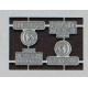 1 jeu de plaques d'immatriculation pour 040DG/BB66000