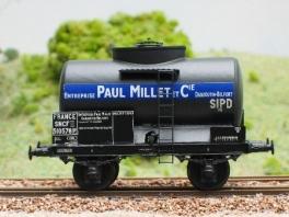 K206  Citerne à essence 2 essieux Paul Millet