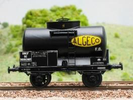 K207  Citerne à essence 2 essieux Algéco