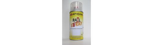 Vernis, apprets et accessoires Railspray