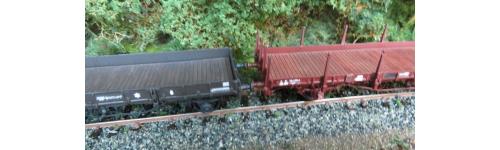 Wagons plats