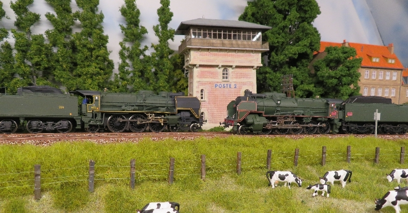 231C et 150P Model Loco France